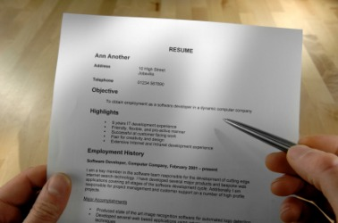 get useful tips on writing a professional resume